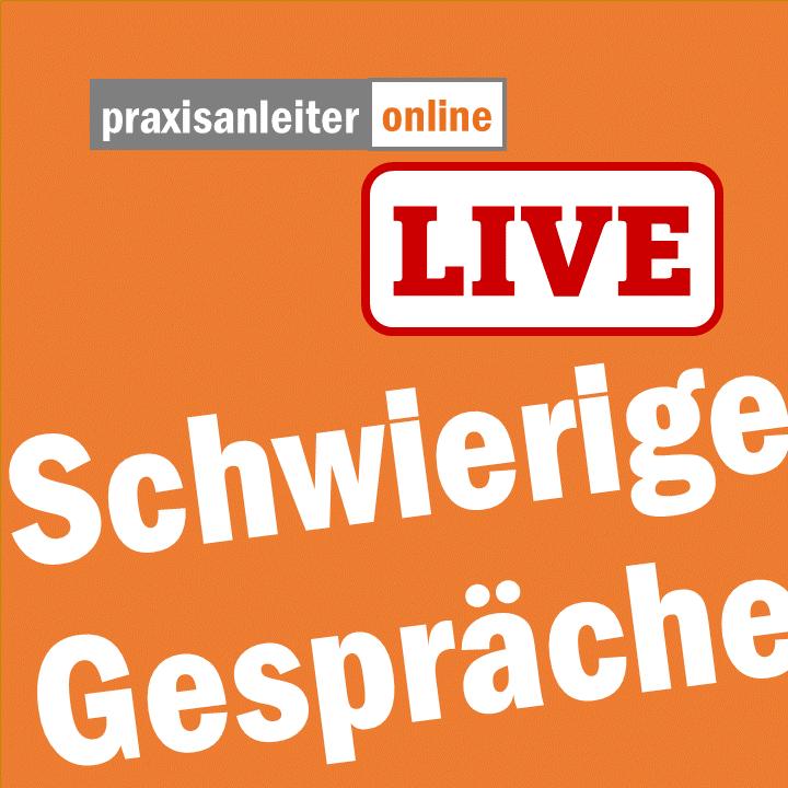 Live-Seminar: Schwierige Gespräche